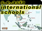 List of International Schools in South East Asia