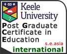 Post Graduate Certificate in Education (International) : Keele University PGCEi Hosted by Harrow International School, Bangkok. Aimed at teachers in, or aspiring to teach in, International Schools, Universities, and Language Schools across South East Asia.