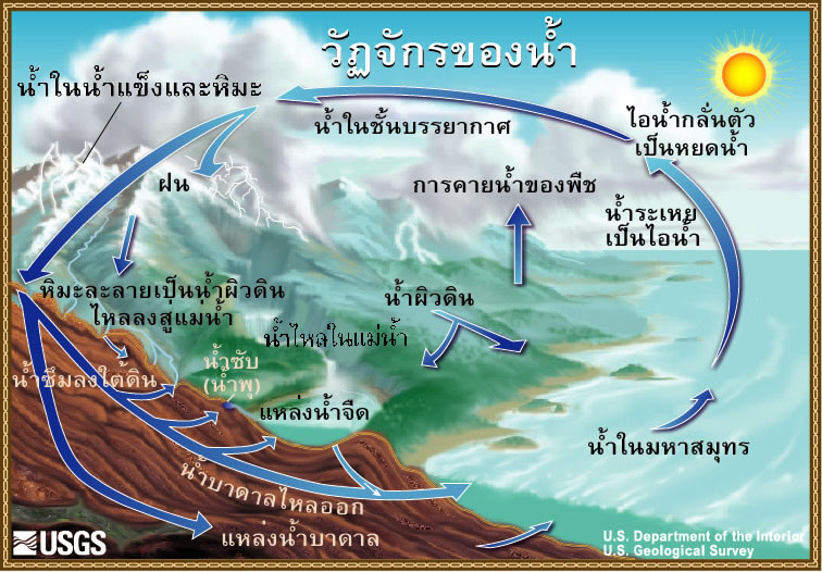 Shambles in seia newsletter march 2005 international schools the water cycle in thai ccuart Gallery